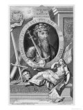 Edward III Reproduction procédé giclée par George Vertue