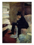 The Widower Giclee Print by Jean Louis Forain