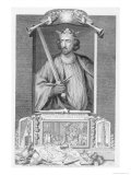 Edward I Reproduction procédé giclée par George Vertue