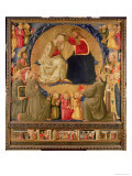 Coronation of the Virgin Impresso gicle por Neri Di Bicci