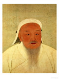 Portrait of Genghis Khan Giclee Print
