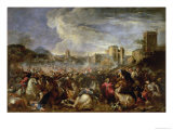 Battle Scene Giclee Print by Salvator Rosa