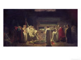 The Martyrs in the Catacombs, 1855 Giclee Print by Jules Eugene Lenepveu
