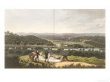 Longleat from the Prospect Hill, Fragments on the Theory and Practice of Landscape Gardening, 1816 Giclee Print by Humphry Repton