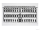 Lateran Palace, Rome, Commissioned by Pope Sixtus V and Designed by Domenico Fontana Giclee Print by Pietro Ferrerio