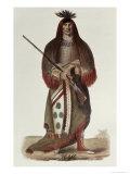 Wa-Na-Ta, Grand Chief of the Sioux Dakota Indians, c.1926 Giclee Print by Charles Bird King
