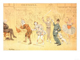 St. Stephen's Pantomime, from 'st. Stephen's Review Presentation Cartoon', 1 January 1887 Giclee Print by Tom Merry