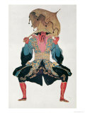 Costume Design For a Chinaman, from Sleeping Beauty, 1921 Giclee Print by Leon Bakst