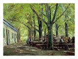 Country Brasserie, Brannenburg, Bavaria, c.1894 Reproduction procédé giclée par Max Liebermann