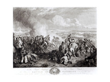 The Battle of Waterloo, 18th June 1815, Engraved by John Burnet Reproduction procédé giclée par John Augustus Atkinson