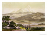 Mount Cayambe, Ecuador, Le Costume Ancien et Moderne, c.1820 Giclee Print by Friedrich Alexander, Baron Von Humboldt