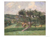 Landscape at Damiette, c.1890 Giclee Print by Armand Guillaumin