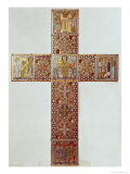 Cross, Mosan School, c.1130-50 Giclee Print by Godefroid de Huy 