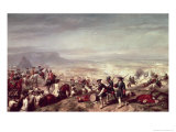 Battle of Almansa Between the Troops of Philip V Giclee Print by Ricardo Balaca Y Canseco