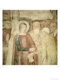 Detail of St. Ranieri in the Holy Land, Mid 14th Century Giclée-tryk af Andrea di Bonaiuto