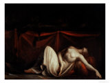 Assassinated Woman and the Furies Giclee Print by Henry Fuseli