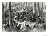 Negro Camp Meeting in the South, from Harper&#39;s Weekly, 10th August 1872 Giclee Print by Solomon Eytinge