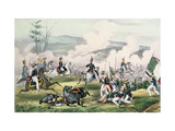 The Battle of Palo Alto, California, 8th May 1846 Giclee Print