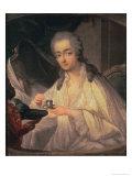 La Comtesse du Barry Giclee Print by Jean-Baptiste Greuze
