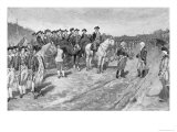 Surrender of Cornwallis at Yorktown, The Surrender of Cornwallis, c.1881 Giclee Print by Howard Pyle