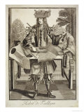 Costume For a Tailor, Pub. by Gerard Valck Giclee Print