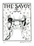 Title Page from The Savoy No. 1 and 2, 1896 Giclee Print by Aubrey Beardsley