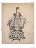 Costume for Violette in La Traviata, 1935, Giclee Print