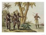 British Guyana, Surinam Slave Rebellion, Le Costume Ancien et Moderne, c.1820 Giclee Print by G. Bramati