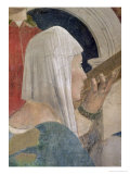 The Legend of the True Cross, Detail of the Queen of Sheba Kissing the Cross, Completed 1464 Giclee Print by Piero della Francesca
