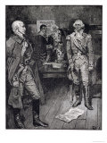 Washington Refusing a Dictatorship, from Harper's Magazine, 1883 Giclee Print by Howard Pyle