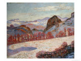 St. Sauves D'Auvergne, c.1900 Giclee Print by Armand Guillaumin