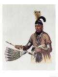 Naw-Kaw, Winnebago Chief, IThe Indian Tribes of North America, Vol.1, Mckenney and Hall, Pub.Grant Giclee Print by Charles Bird King