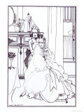 The Coiffing, from the Poem,The Ballad of a Barber, in The Savoy, c.1896 Giclee Print by Aubrey Beardsley