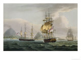 Capture of Banda, 1810, Engraved Sutherland For J. Jenkins&#39;s &#39;Naval Achievements&#39;, 1816 Giclee Print by Thomas Whitcombe
