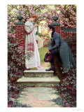 When All the World Seemed Young, Harpers Magazine, 1909 Giclee Print by Howard Pyle