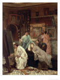 Collector of Pictures at the Time of Augustus, 1867 Giclee Print by Sir Lawrence Alma-Tadema
