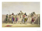 Toreros Reposing Between the Bulls, 1865 Giclee Print by William Henry Lake Price