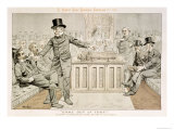 Mr Gladstone Returns from the Country, 'st. Stephen's Review Presentation Cartoon', 1886 Giclee Print by Tom Merry