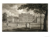 View of Buckingham House, Engraved by W. Knight, Published 1799 Giclee Print by Edward Dayes