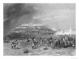 Battle of Bunker&#39;s Hill, 17th June 1775, Engraved by John Godfrey Giclee Print by Alonzo Chappel
