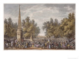 The Feast of Virgil at Mantua, 24 Vendemiaire, Year 6 Giclee Print by Antoine Charles Horace Vernet