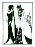 Salome with Her Mother, Herodias, 1894 Giclee Print by Aubrey Beardsley