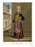 Ast-Chi-Bachi, Cook and Officer of the Janissaries, 18th Century Giclee Print by Gerard Jean Baptiste Scotin