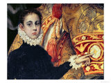 Burial of Count Orgaz, Legend of 1323, Boy, Thought to Be the Son of the Painter, Manuel, 1586-88 Giclee Print by  El Greco