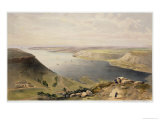 North Side of Harbour of Sebastopol, c.1856 Giclee Print by William Simpson