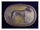 Relief of a Greyhound Giclee Print by Benvenuto Cellini