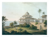 Chalees Satoon, Fort of Allahabad, River Jumna, c.1795 Giclee Print by Thomas & William Daniell