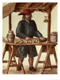 Venetian Tobacco Vendor Reproduction proc&#233;d&#233; gicl&#233;e par Jan van Grevenbroeck