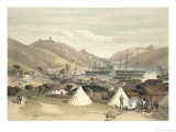 Balaklava, Looking Towards the Sea, Plate from The Seat of War in the East, 1856 Giclee Print by William Simpson