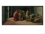 The Birth of St. John the Baptist Giclee Print by Luca Signorelli